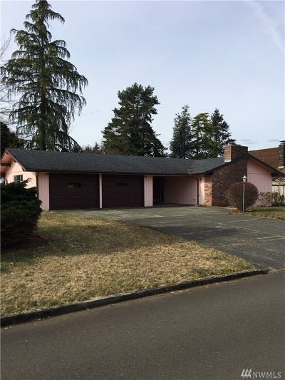 Grays Harbor County Single Family Home For Sale: 1 Trinity Place