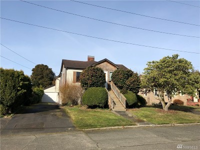 Grays Harbor County Single Family Home For Sale: 811 N Thornton