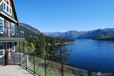 Chelan County, Douglas County Single Family Home For Sale: 10514 S Lakeshore Road