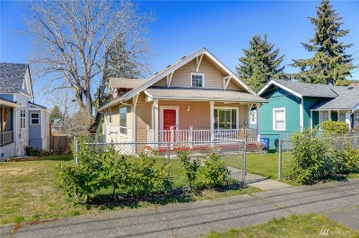 Pierce County Single Family Home For Sale: 5016 S K St