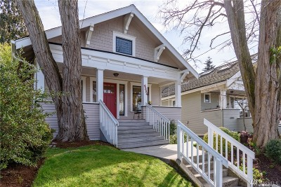 Seattle Single Family Home For Sale: 4334 Latona Ave NE