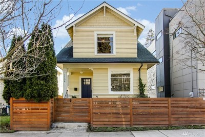 Seattle Single Family Home For Sale: 1704 25th Ave