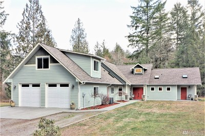 Tenino Single Family Home For Sale: 530 143rd Ave SE