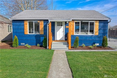 Puyallup Single Family Home For Sale: 1403 8th Ave NW