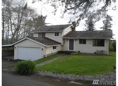 Grays Harbor County Single Family Home For Sale: 115 Beacon Hill Dr
