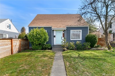 Tacoma Single Family Home For Sale: 6829 S Oakes St