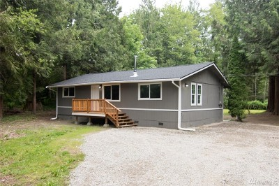 Concrete Single Family Home For Sale: 7621 Rainbow Ct