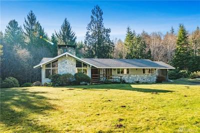 Grays Harbor County Single Family Home Pending: 46 Black Creek Rd