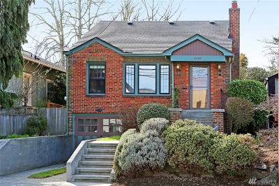 Seattle Single Family Home For Sale: 3457 38th Ave SW