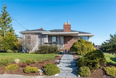 Skagit County Single Family Home Sold: 1406 9th St