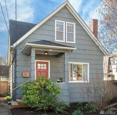 Seattle Single Family Home For Sale: 2655 NW 63rd St