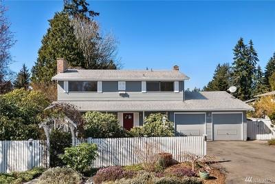 Shoreline Single Family Home For Sale: 18635 Corliss Ave N