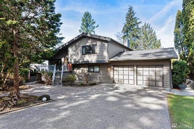 Silverdale Single Family Home Pending Inspection: 13885 Crestview Cir NW