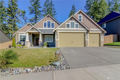 Gig Harbor Single Family Home Pending Inspection: 3915 122nd St Ct NW