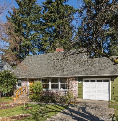 Shoreline Single Family Home For Sale: 1316 N 165th St