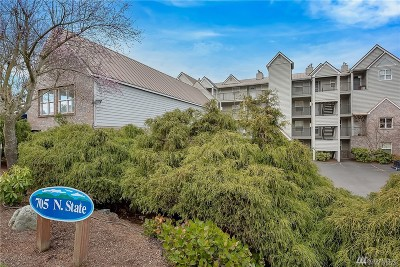 Whatcom County Condo/Townhouse Sold: 705 N State St #201