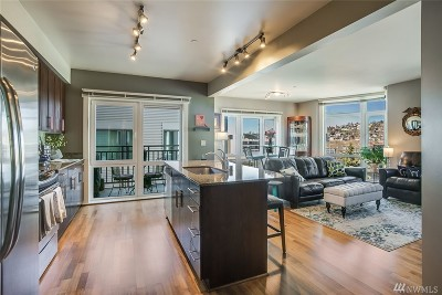 Seattle Condo/Townhouse For Sale: 699 John St #604