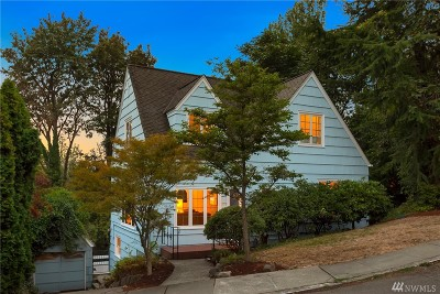 Seattle Single Family Home For Sale: 535 36th Ave E