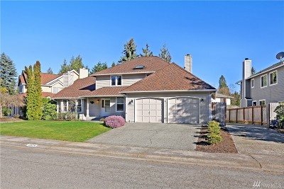 Single Family Home For Sale: 18214 143rd Ave SE