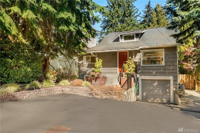 Seattle Single Family Home For Sale: 1532 NE 97th St