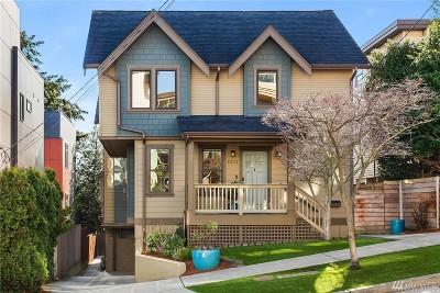 Seattle Single Family Home For Sale: 2333 W Crockett St