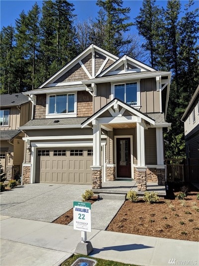 Issaquah Single Family Home For Sale: 497 5th (Lot 22) Ave NE