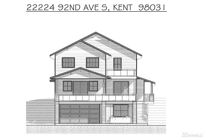 Kent Single Family Home For Sale: 22224 92nd Ave S