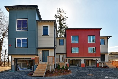 Snohomish Condo/Townhouse For Sale: 109 7th St #B