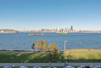 Seattle Condo/Townhouse For Sale: 1727 Harbor Ave SW #N303