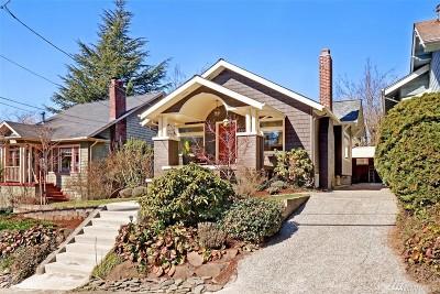 Seattle Single Family Home For Sale: 1906 E Lynn St