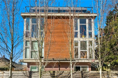 Seattle Single Family Home For Sale: 411 Summit Ave E #C