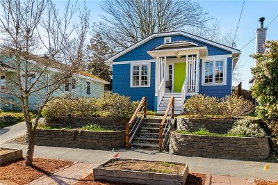 Seattle Single Family Home For Sale: 163 25th Ave