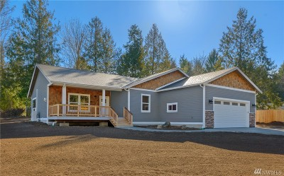 Hansville Single Family Home For Sale: 38562 Hood Canal Dr NE