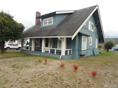 Centralia Single Family Home For Sale: 301 Harrison Ave