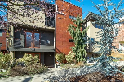 Seattle Single Family Home For Sale: 167 16th Ave #B