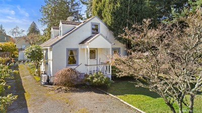 Seattle Single Family Home For Sale: 3739 SW 98th St