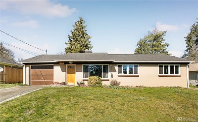 Seattle Single Family Home For Sale: 1710 NE 135th St