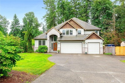 Puyallup Single Family Home For Sale: 12208 151st St E