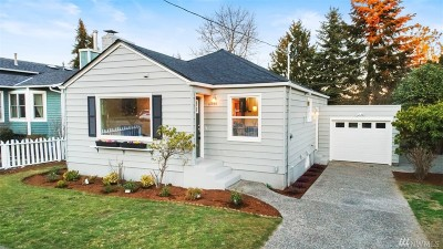 Seattle Single Family Home For Sale: 11744 Fremont Ave N