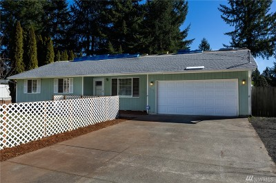 Thurston County Single Family Home For Sale: 11418 Entree View Dr SW