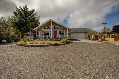 Grays Harbor County Single Family Home For Sale: 335 Marine View Dr
