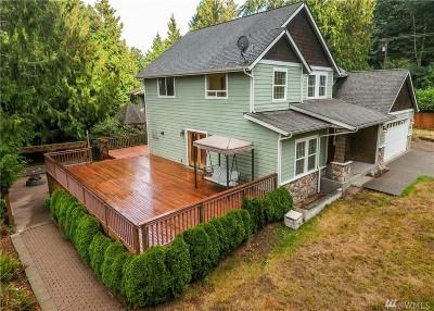 Hansville Single Family Home Pending: 4996 Hood Canal Place NE