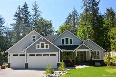 Gig Harbor Single Family Home For Sale: 2216 155th St NW