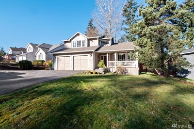 Silverdale Single Family Home Pending Inspection: 9793 Enchantment Ave NW
