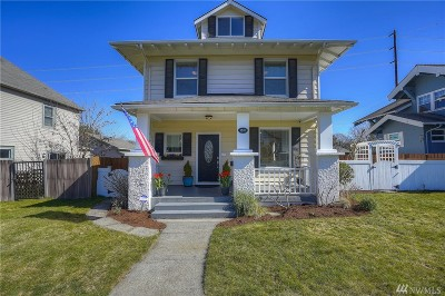 Tacoma Single Family Home For Sale: 1507 N Anderson St