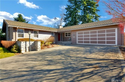 Fircrest Single Family Home For Sale: 1014 Corona Dr