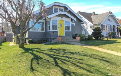 Tacoma Single Family Home For Sale: 3408 21st St