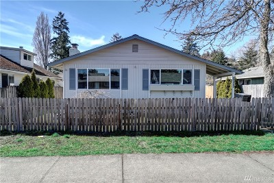 Tacoma Single Family Home For Sale: 3606 S Tyler St