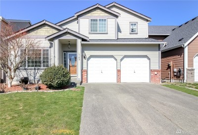 Spanaway Single Family Home For Sale: 1743 179th St Ct E