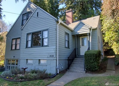 Bremerton Single Family Home For Sale: 1535 N Callow Ave